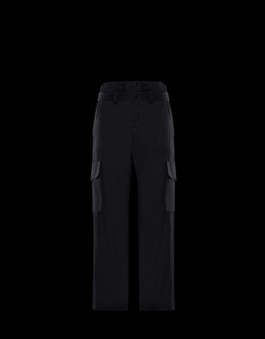 CASUAL TROUSER Black 1 Moncler JW Anderson Woman