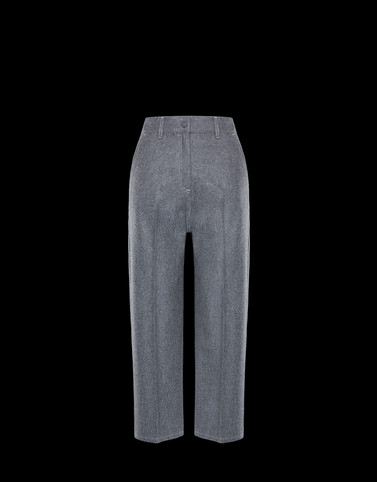 CASUAL TROUSER Grey Category Casual trousers Woman
