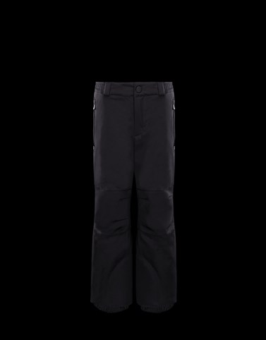 SKI TROUSERS Black Grenoble_junior-8-10-years-boy Man