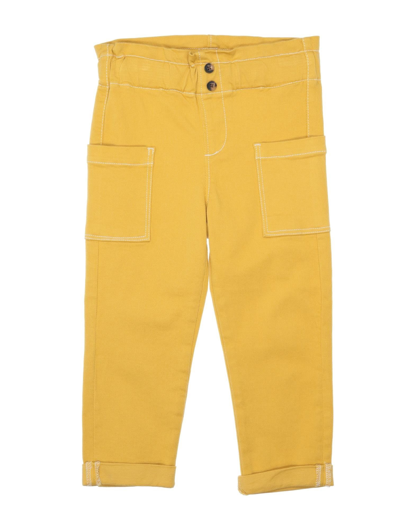 Name It® Kids' Casual Pants In Yellow