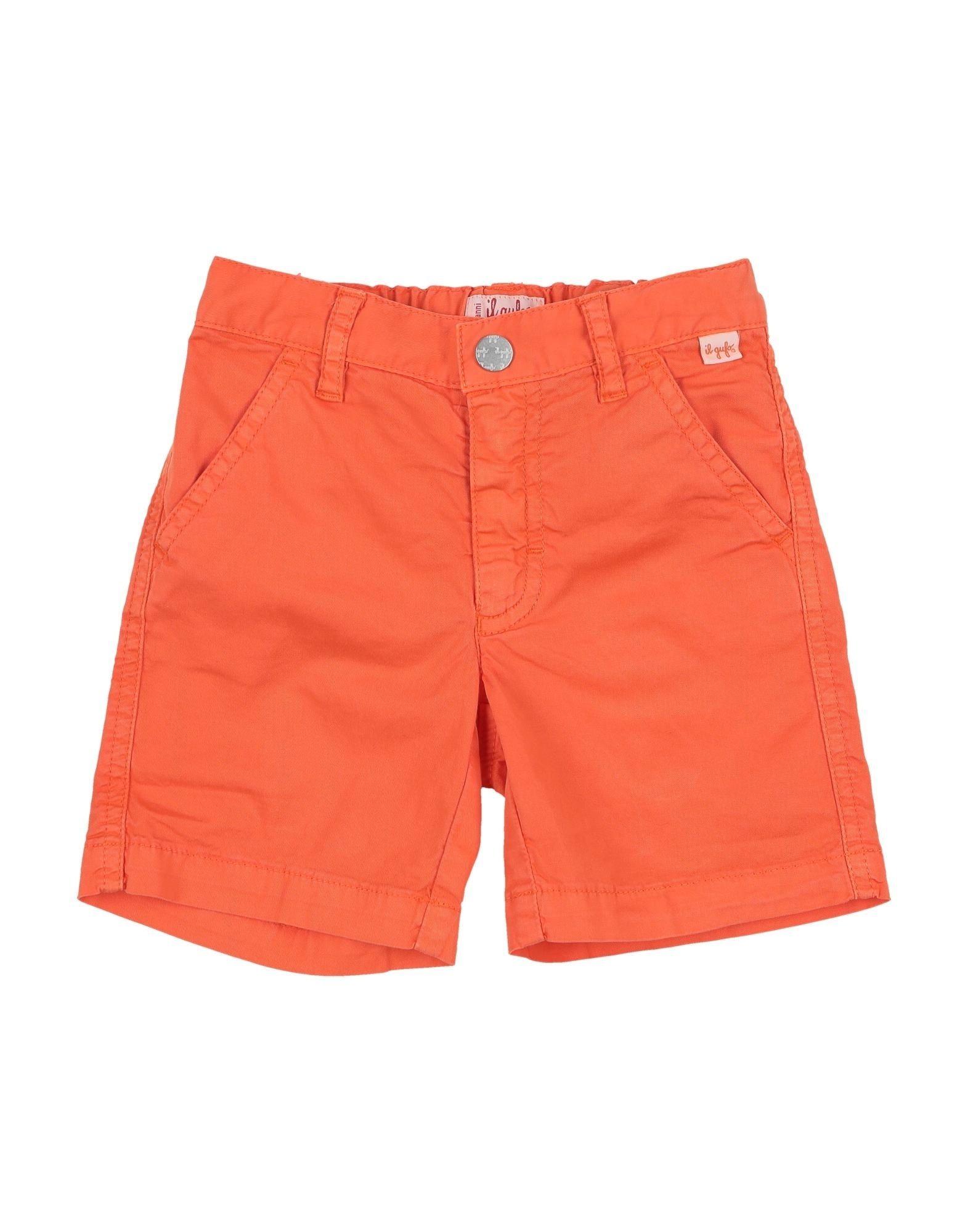 Il Gufo Kids' Bermudas In Orange