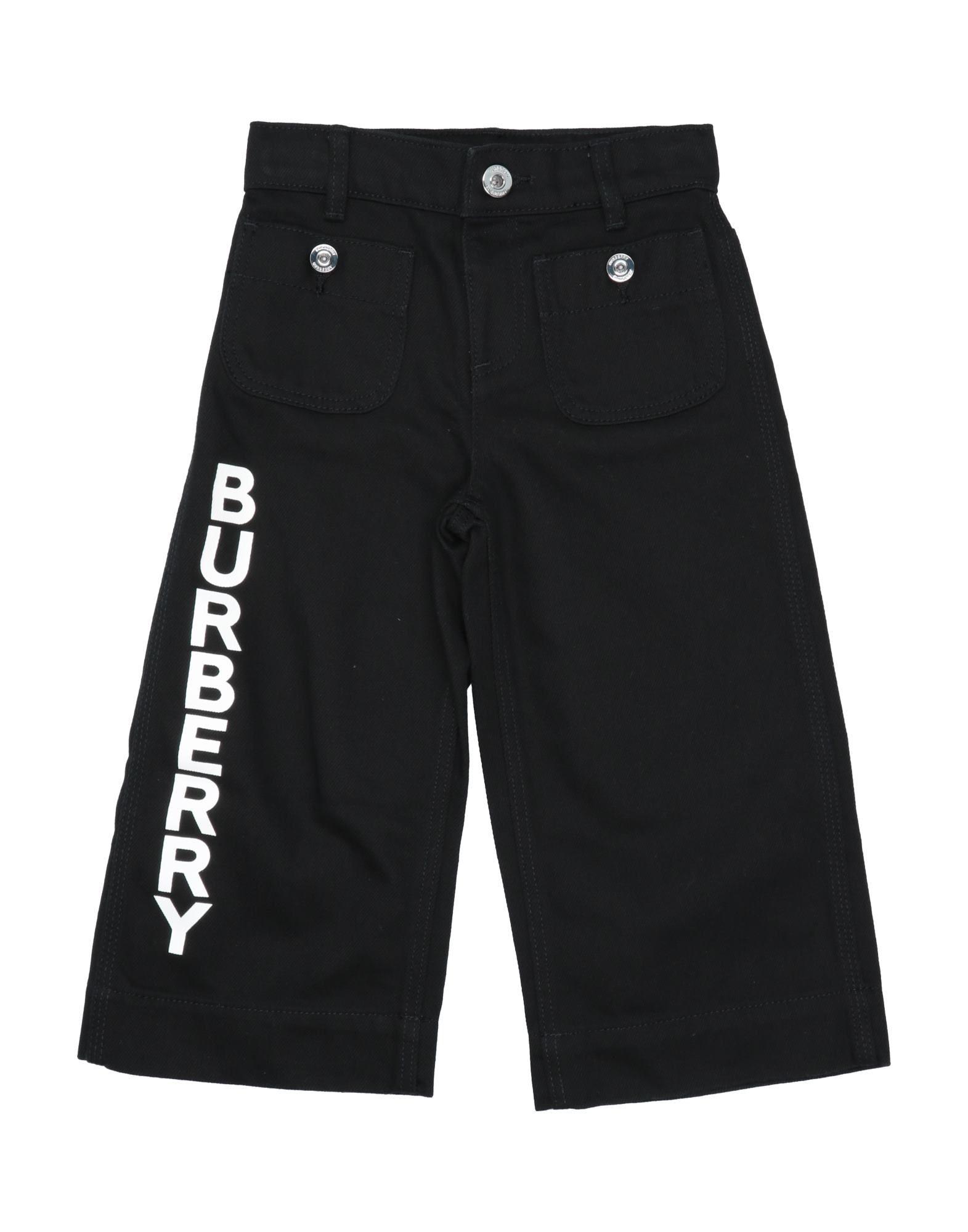 Burberry Kids' Casual Pants In Black