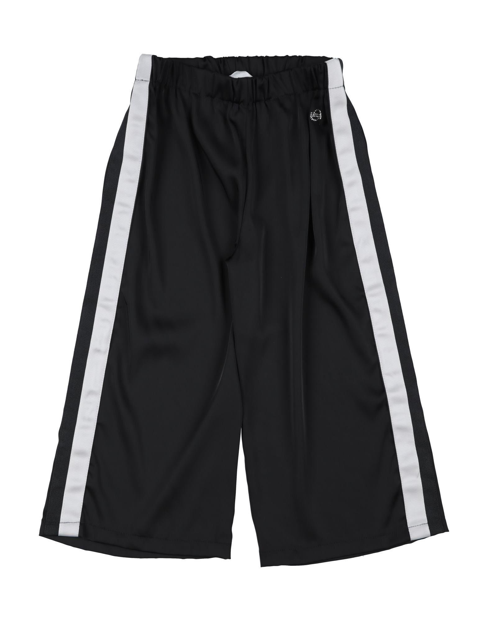 Byblos Kids' Casual Pants In Black