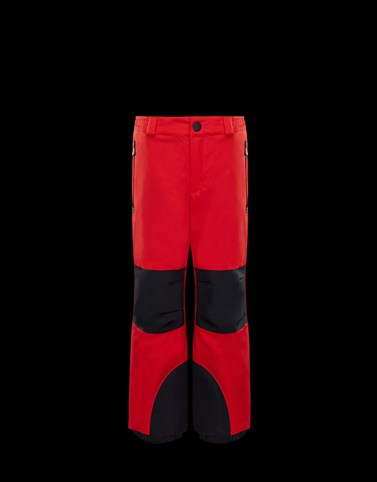 SKI TROUSERS Red Grenoble_kids-4-6-years-boy Man