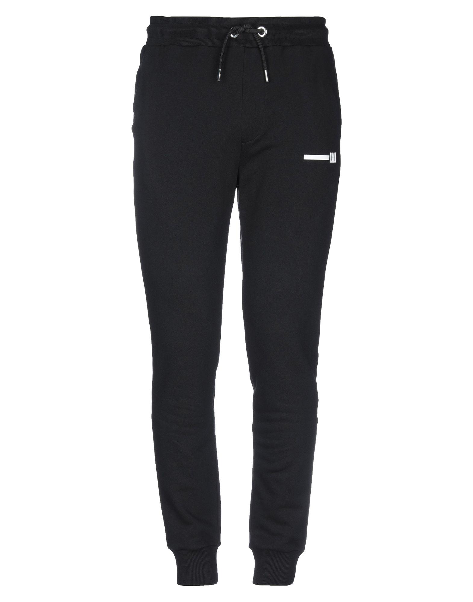 《セール開催中》LHU URBAN メンズ パンツ ブラック S コットン 100%