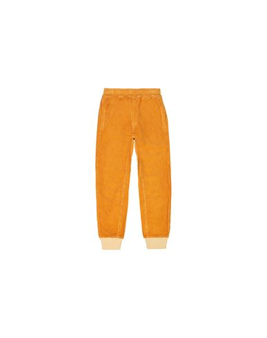 STONE ISLAND KIDS 62445 Fleece Trousers Man Ochre EUR 163