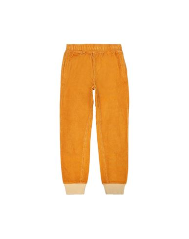STONE ISLAND JUNIOR 62445 Fleece Pants Man Ochre USD 198