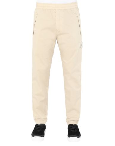 STONE ISLAND 325F4 GHOST PIECE Pants Man Beige USD 290