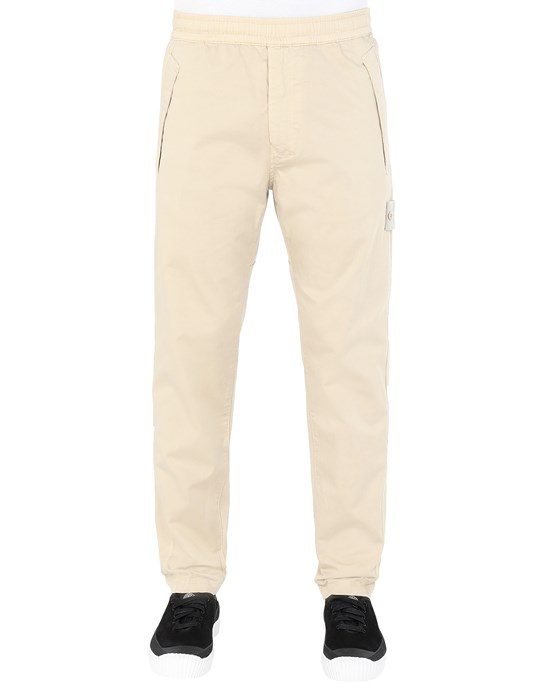 STONE ISLAND 325F4 GHOST PIECE Pants Man Beige
