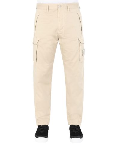 STONE ISLAND 326F4 GHOST PIECE Trousers Man Beige EUR 335