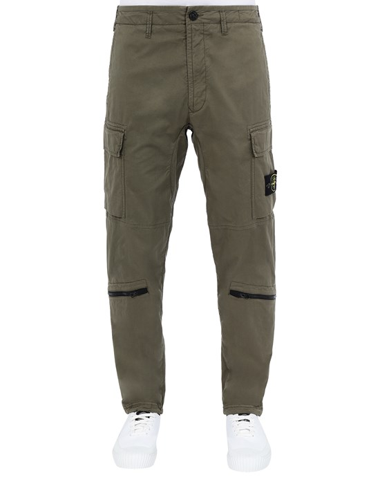 STONE ISLAND 30419 Pants Man Olive Green