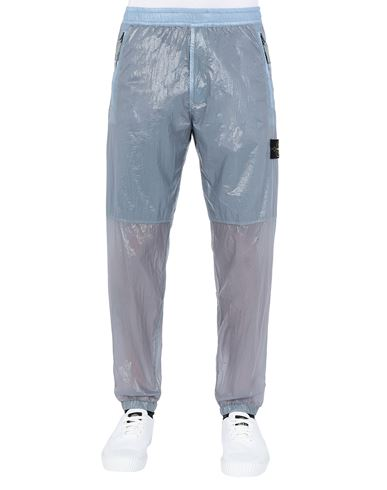 STONE ISLAND 30835 LUCIDO-TC_PACKABLE Trousers Man Mid Blue EUR 390