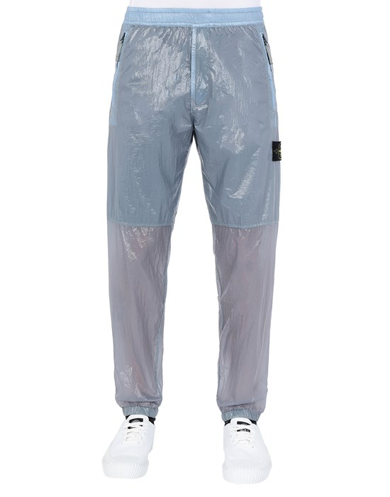 STONE ISLAND 30835 LUCIDO-TC_PACKABLE Pants Man Mid Blue