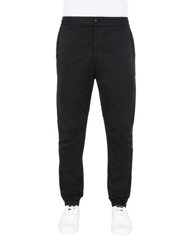 STONE ISLAND 30909 Trousers Man Black EUR 255