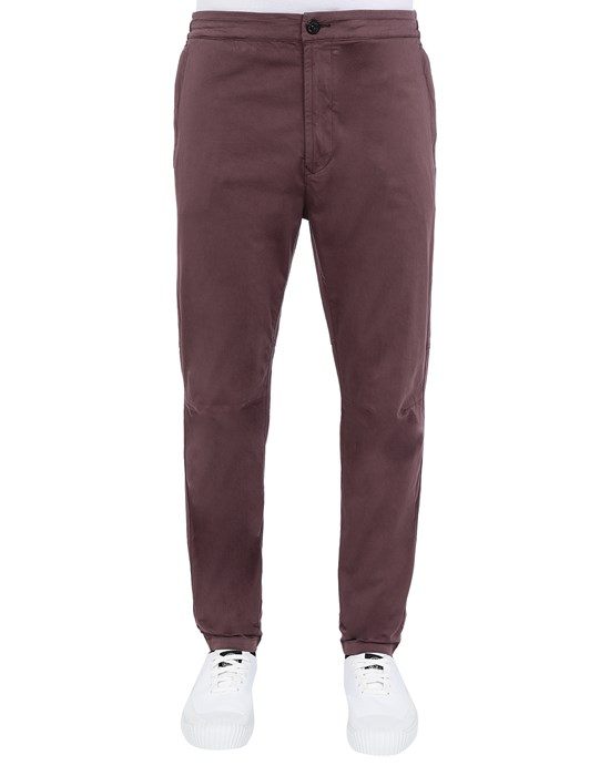 STONE ISLAND 30909 Trousers Man Dark Burgundy