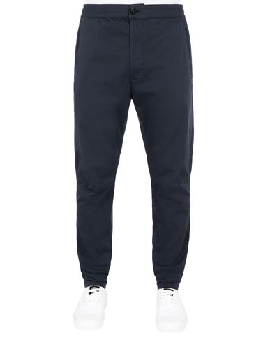 STONE ISLAND 30909 Trousers Man Blue EUR 255