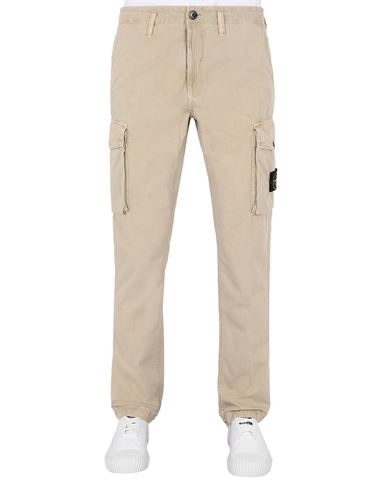 STONE ISLAND 318WA T.CO 'OLD'	 Trousers Man Sand EUR 275