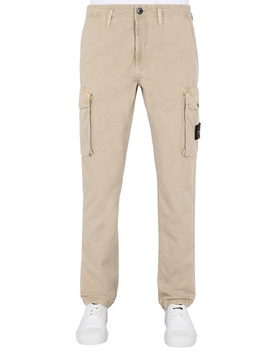 Trousers Man 318WA T.CO 'OLD'	 Front STONE ISLAND