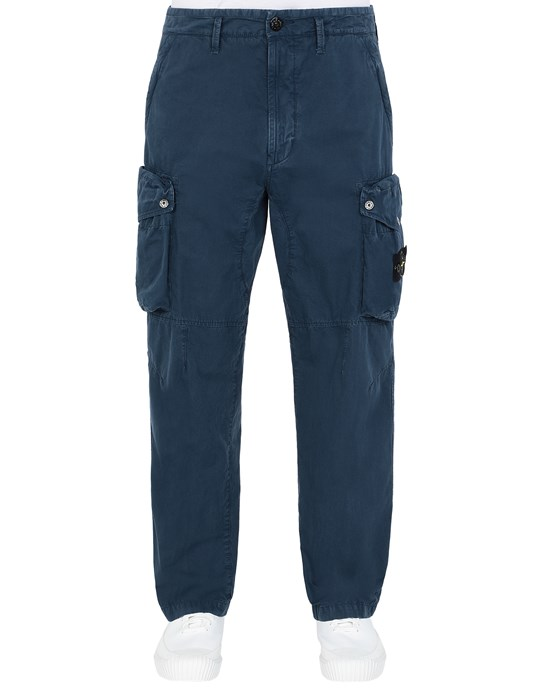 STONE ISLAND 319WA T.CO 'OLD' Pants Man Avio Blue