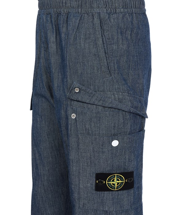 13519825cf - TROUSERS - 5 POCKETS STONE ISLAND