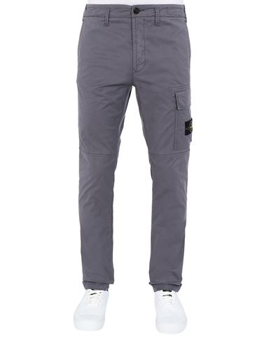 STONE ISLAND 31419 Pants Man Blue Grey USD 369