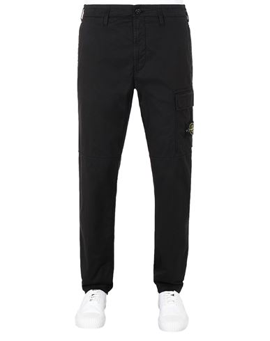 STONE ISLAND 31419 Trousers Man Black EUR 249
