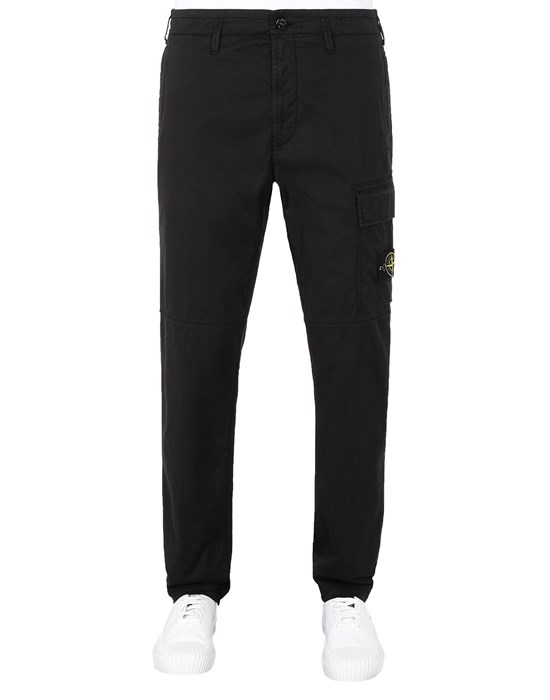 STONE ISLAND 31419 Pants Man Black