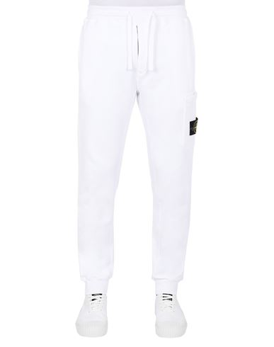 STONE ISLAND 64551 Trousers Man White EUR 239