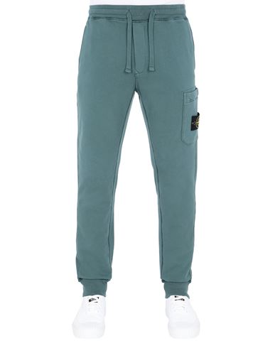 STONE ISLAND 64551 Pants Man Dark Teal Green USD 353