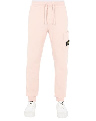 STONE ISLAND 64551 Trousers Man Pastel pink EUR 239