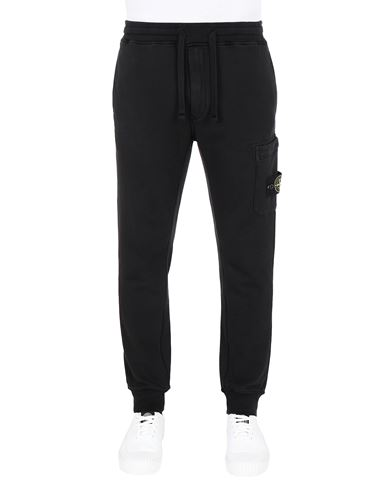 STONE ISLAND 64551 Pants Man Black EUR 253