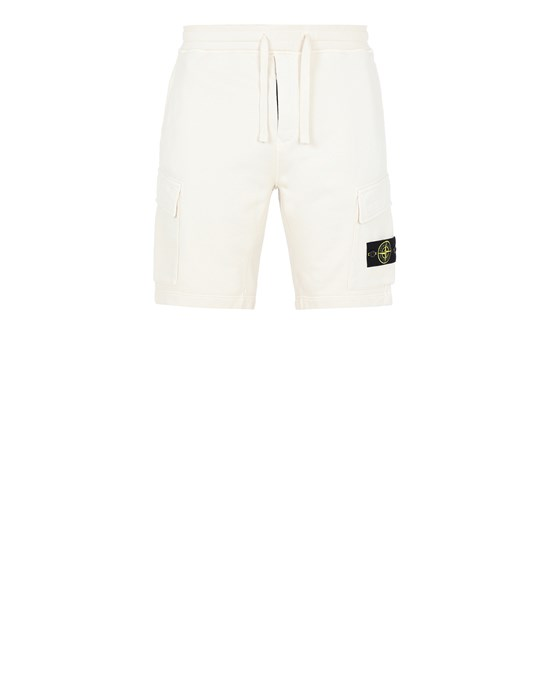 Fleece Bermuda Shorts Man 65651 Front STONE ISLAND