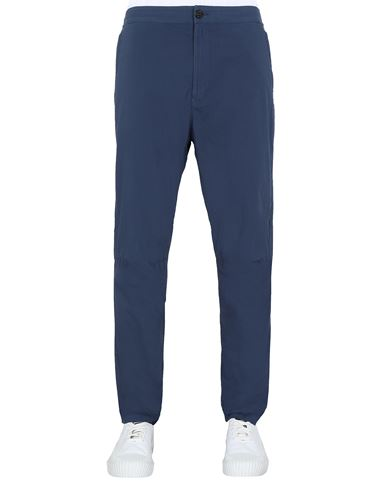 STONE ISLAND 30903 Pants Man Avio Blue USD 256