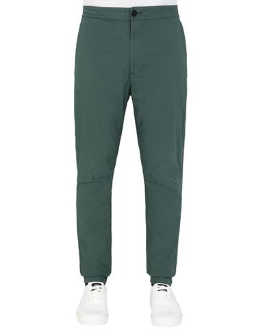 STONE ISLAND 30903 Pants Man Dark Teal Green EUR 186