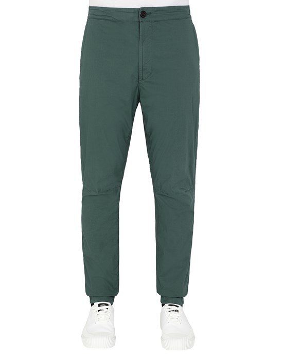 STONE ISLAND 30903 Trousers Man Dark Teal Green