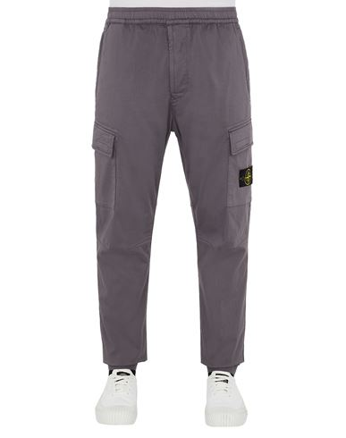 STONE ISLAND 31309 Trousers Man Blue Grey EUR 319