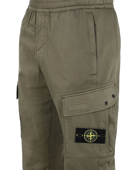 13519896fd - TROUSERS - 5 POCKETS STONE ISLAND