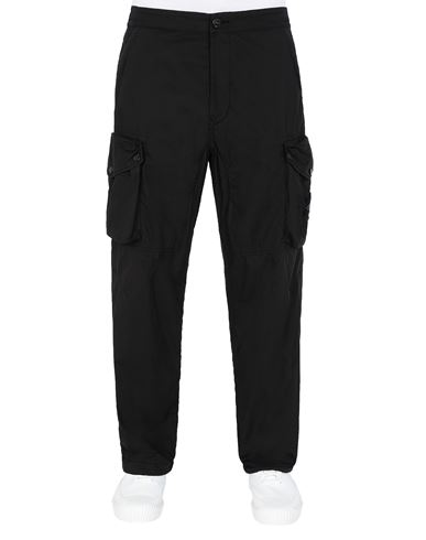 STONE ISLAND 30203 PANTS - 5 POCKETS Man Black USD 408