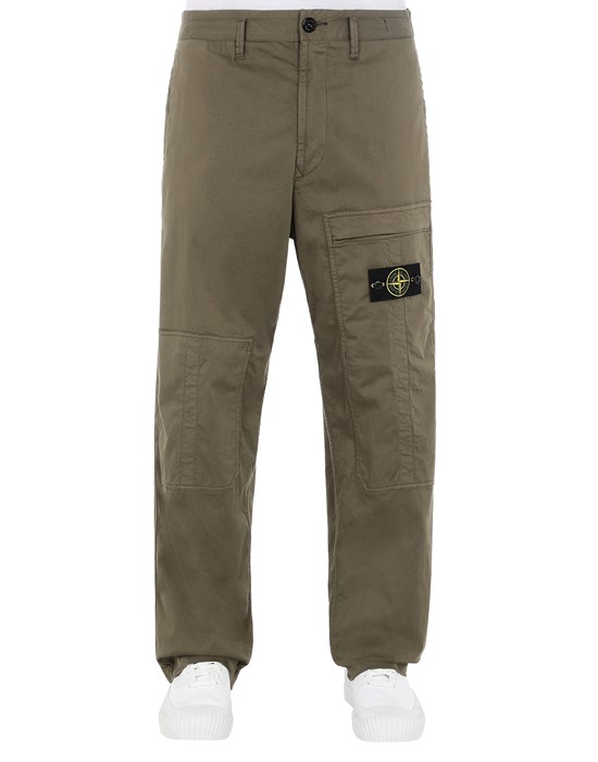 STONE ISLAND 30609 Trousers Man Olive Green