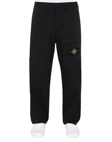 STONE ISLAND 30609 Trousers Man Black EUR 295
