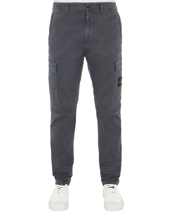 STONE ISLAND 30504 T.CO 'OLD' TROUSERS メンズ スチールグレー