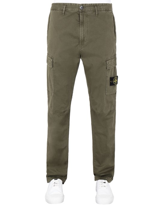 STONE ISLAND 30504 T.CO 'OLD' Pants Man Olive Green