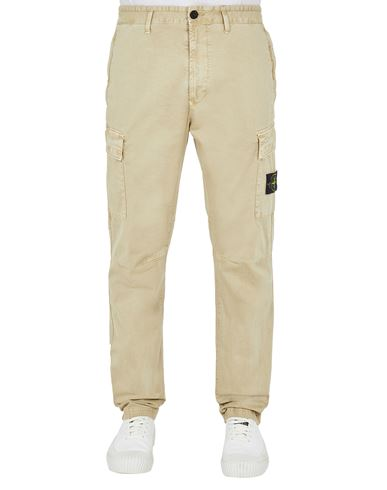 STONE ISLAND 30504 T.CO 'OLD' Trousers Man Sand EUR 299
