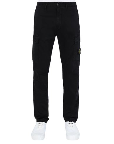 STONE ISLAND 30504 T.CO 'OLD' Trousers Man Black EUR 299