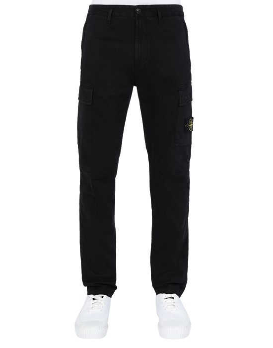 Trousers Man 30504 T.CO 'OLD' Front STONE ISLAND