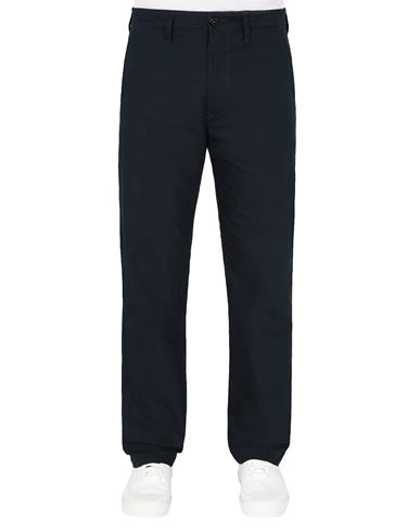 STONE ISLAND 31506 O-COTTON/R-NYLON TELA Trousers Man Blue EUR 255