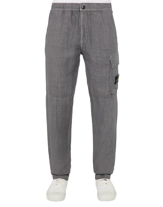 Trousers Man 31601 'FISSATO' TREATMENT Front STONE ISLAND
