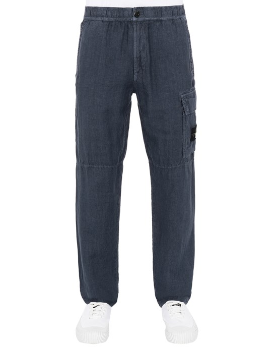 Trousers Man 31601 'FISSATO' TREATMENT Front STONE ISLAND
