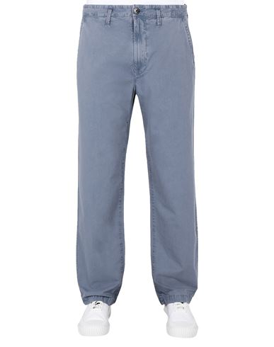 STONE ISLAND 315WA T.CO 'OLD'  Pants Man Pastel Blue USD 290