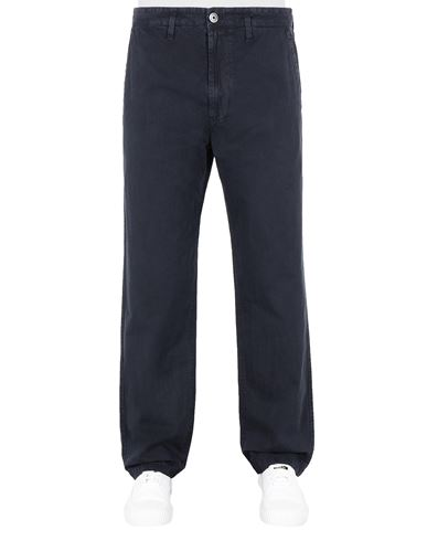 STONE ISLAND 315WA T.CO 'OLD'  Pants Man Blue USD 227